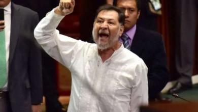 Fernandez Noroña agredido en Hidalgo