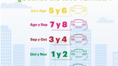 calendario verificación vehicular