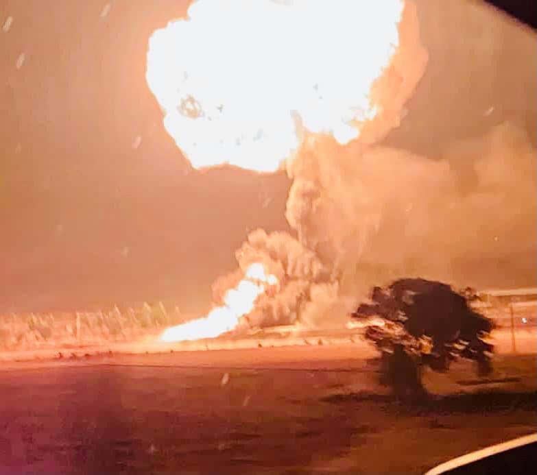 explosión gasera