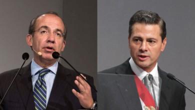 Felipe Calderón y Enrique Peña Nieto