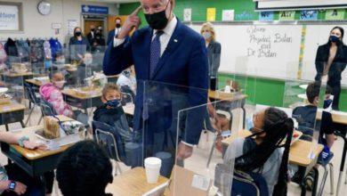 El presidente Joe Biden ha cumplido su objetivo de tener la mayoría de las escuelas primarias y secundarias abiertas para el aprendizaje completo y en persona en sus primeros 100 días de gobierno / Foto: AP