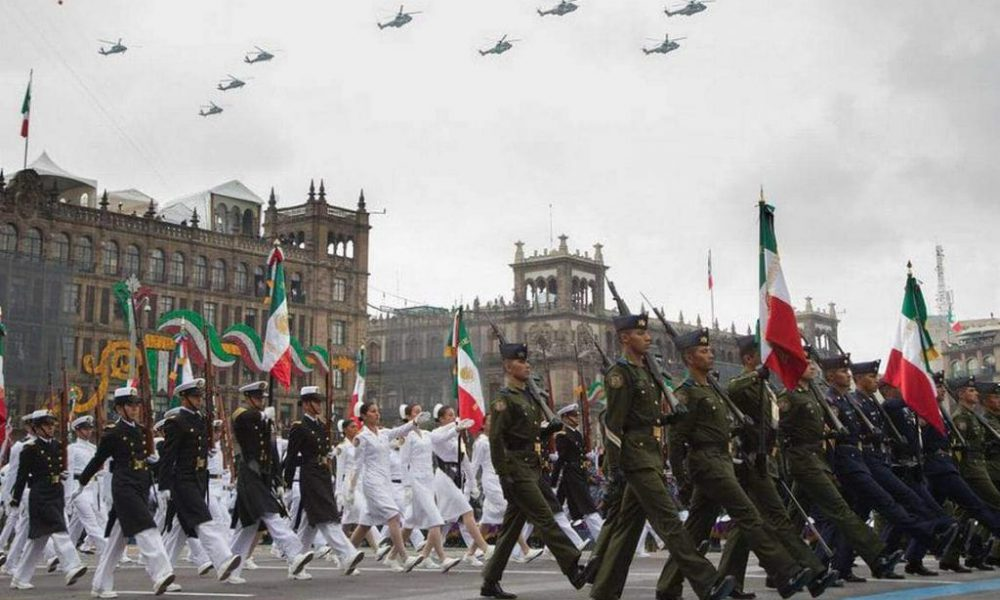 ¿Dónde ver el desfile militar del 16 de septiembre 2021?