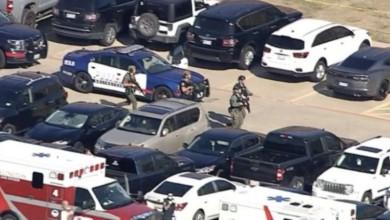 Video   Momento de tiroteo en preparatoria de Arlington, Texas