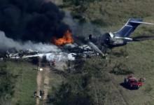 se estrella avión en texas